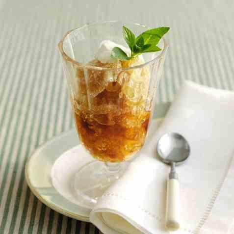 Martini-dessert oppskrift.