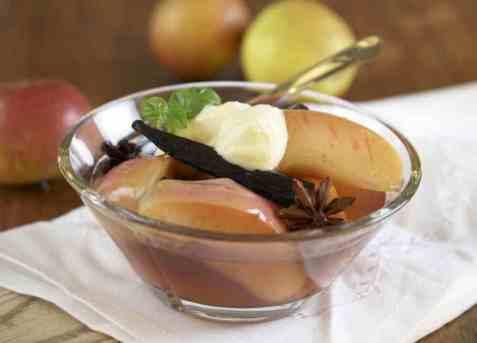 Krydderkokte epler oppskrift.