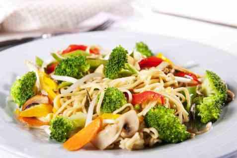 Brokkoli-wok oppskrift.