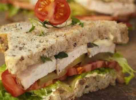Club sandwich 4 oppskrift.