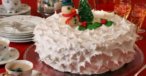 Bilde av Engelsk julekake (Rich fruit cake).