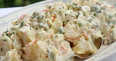 Potetsalat med egg 2 oppskrift.
