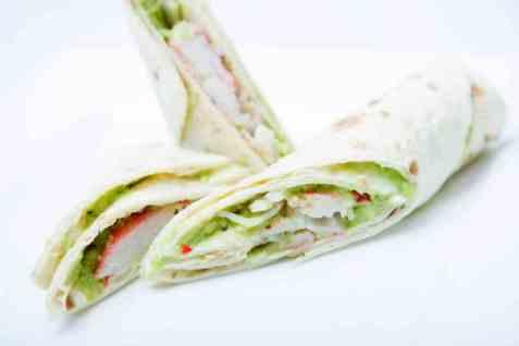 Prøv også LobNobs i wraps med guacamole.