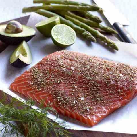 Krydderblanding til fisk på grill oppskrift.