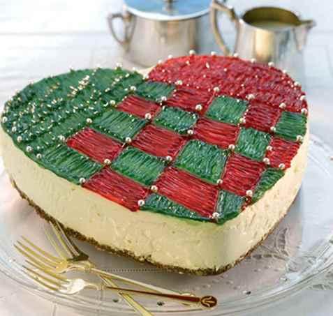 Julekurvkake (ostekake) oppskrift.