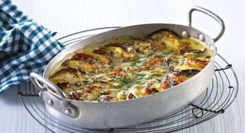 Osteform med grønnsaker oppskrift.