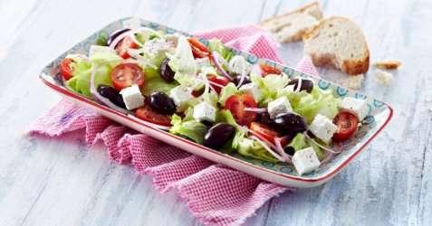 Gresk salat 4 oppskrift.