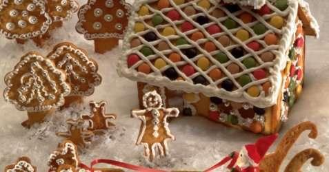 Ingrids pepperkakeoppskrift til figurer og hus oppskrift.