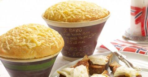 Bilde av Pottebr�d med ost.