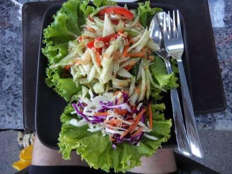 Enkel thai agurksalat oppskrift.