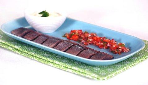 Bilde av Sild med salsa.