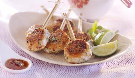 Thailandske fiskekaker 2 oppskrift.