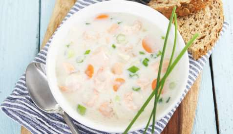Fiskesuppe med fennikel enkel oppskrift.