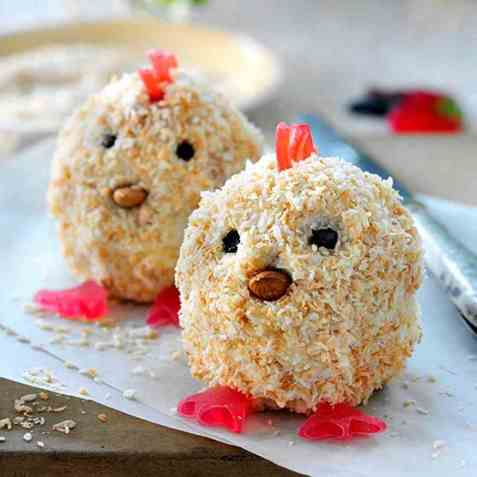 Kyllingmuffins oppskrift.