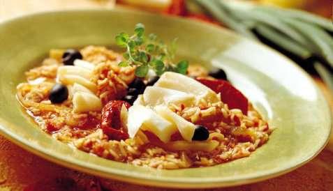 Bilde av Klippfisk med ris.