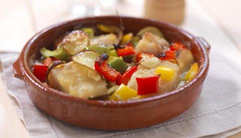 Stekt klippfisk på portugisisk vis oppskrift.