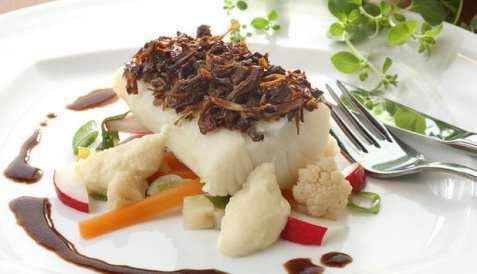 Bilde av Klippfisk med pastinakkpur�.