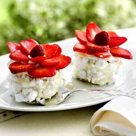 Jordbærblomster oppskrift.