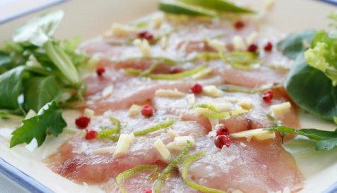 Limemarinert makrell oppskrift.