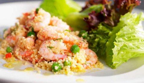 Bilde av Reker med couscous.