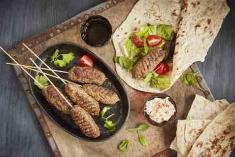 Sis köftesi - tyrkisk kebab oppskrift.
