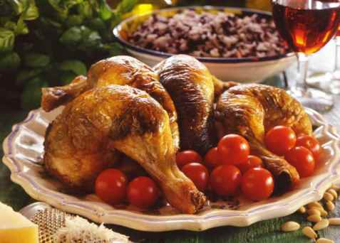 Utbrettet kylling med solsikkepesto oppskrift.