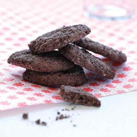 Sjokoladekjeks med sukrin oppskrift.