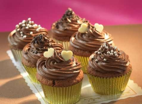 Cupcakes med Baileys oppskrift.