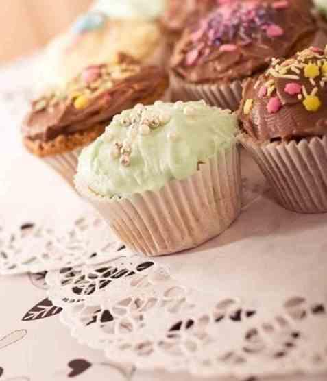 Bilde av Grunnoppskrift cupcakes.