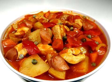 Chicken Afritada oppskrift.