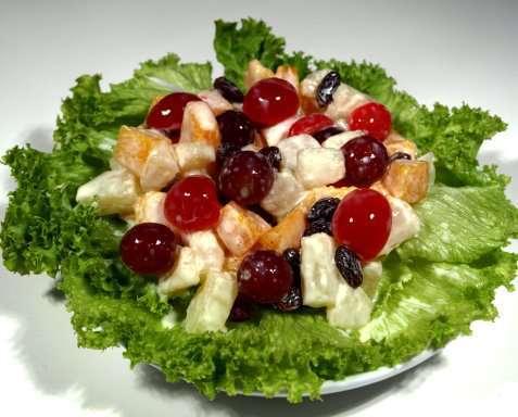 Bilde av Filippinsk frukt salat.