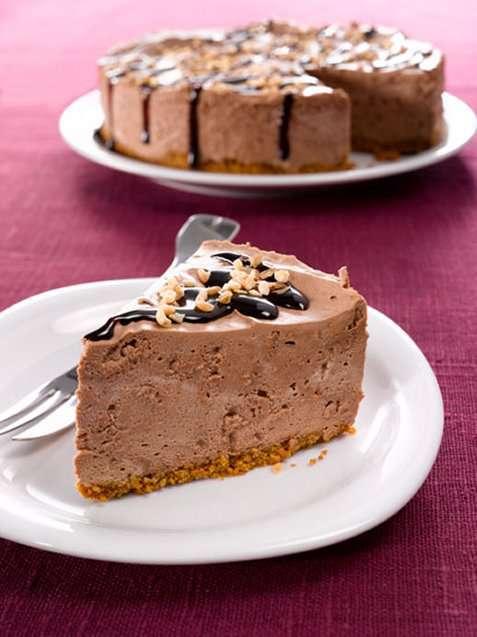 Sjokolade- og nøttekake 2 oppskrift.