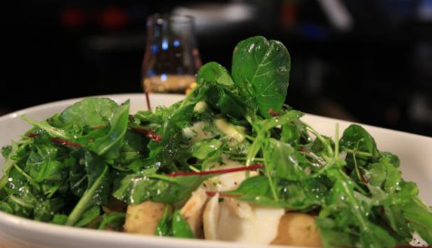Bilde av Salat med klippfisk og poteter.