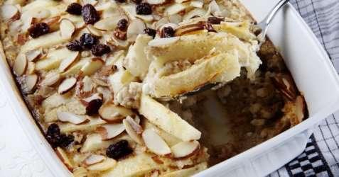 Bilde av Enkel eplekake med cottage cheese.
