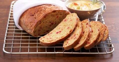 Brød med rotfrukter oppskrift.
