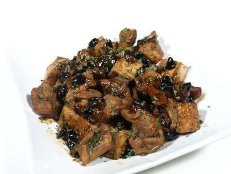 Bilde av Pork and tofu in oystersauce.