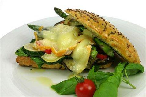 Varm sandwich med Saint Albray oppskrift.