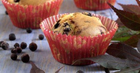 Blåbærmuffins 8 oppskrift.