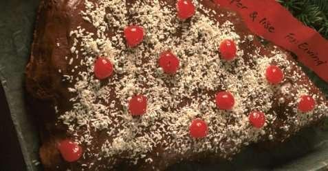 Appelsinsjokoladekake til jul oppskrift.