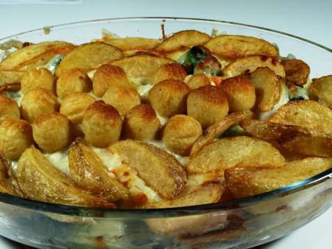 Bilde av Minnesota Hot Dish Casserole.