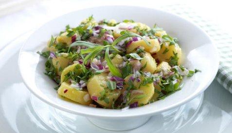 Fransk potetsalat 5 oppskrift.