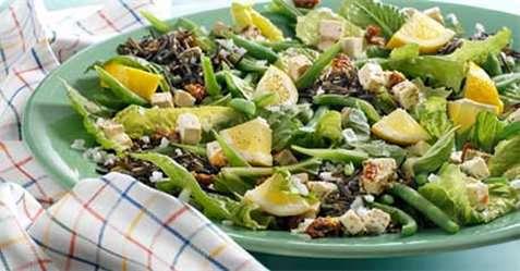 Salat med sitron oppskrift.