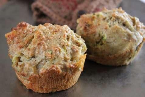 Matmuffins med squash og cheddar oppskrift.