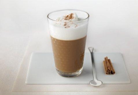 Iced cappuccino oppskrift.