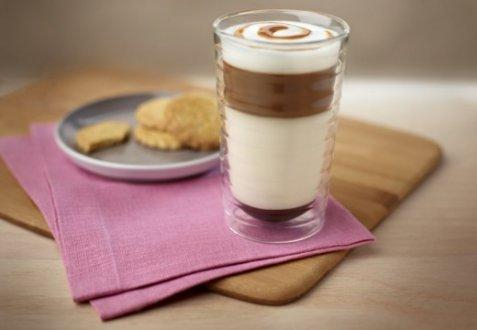 Latte Macchiato Creme Brulee oppskrift.