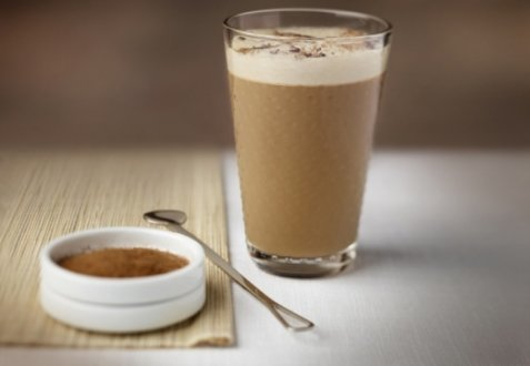 Milk and Spice Iced Coffee oppskrift.