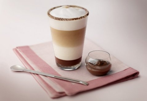 Latte macchiato oppskrift
