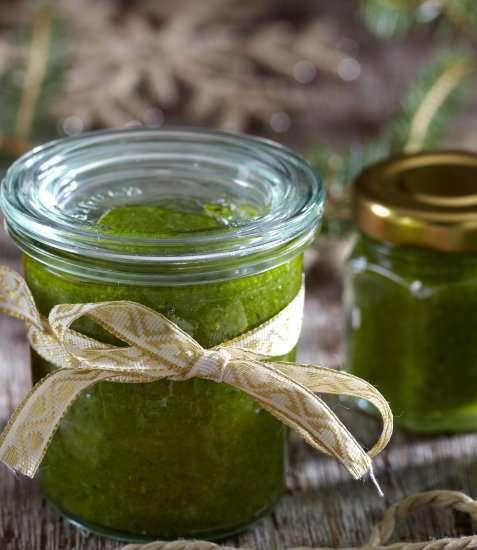 Grønn pesto 1 oppskrift.