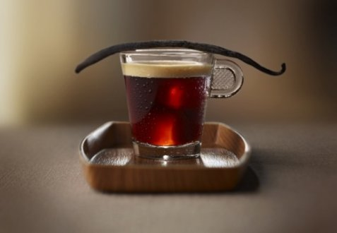 Vanilla Frappé Coffee oppskrift.