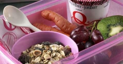Sunn og mettende matpakke oppskrift.